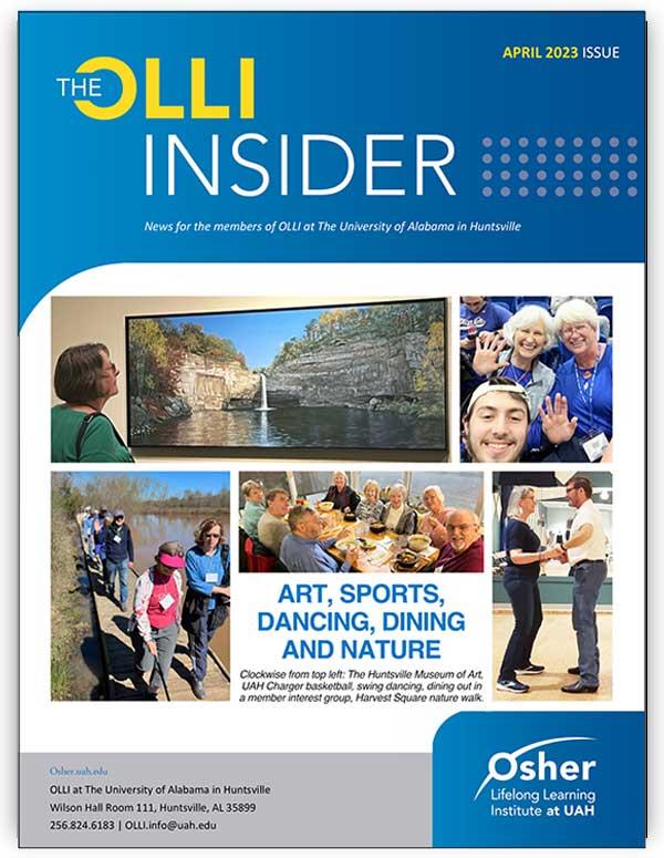 OLLI Insider Newsletter