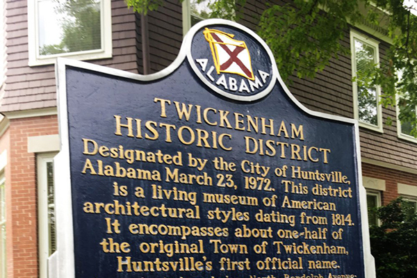 Historic Huntsville Guided Walking Tour